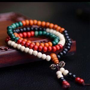 Sandlewood Buddha Meditation Bracelet